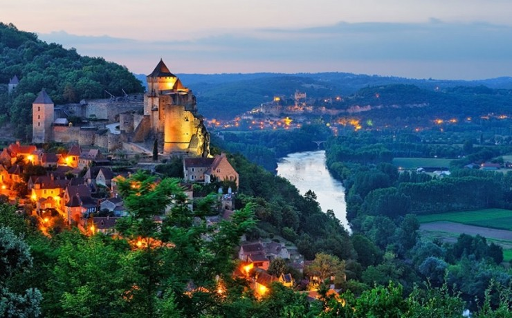 Castelnaud Schloss
